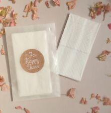 Tears Of joy For Happy Tears Tissue Packs Rustic Vintage Handmade Glassine Bags