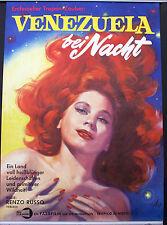 VENEZUELA BEI NACHT,Ein entfesselter Tropenzauber,Film Plakat,1962,59 x 84 cm