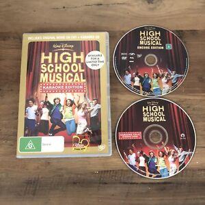 High School Musical Karaoke Edition DVD Region 4 Aus Seller Free Postage