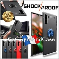 Coque housse magnétique Finger Ring Kickstand Case Samsung Galaxy Note 10, 10+