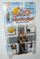 "1:18 Ultimate Soldier WWII German Fallschirmjäger Jumper Paratrooper Figure 4"""