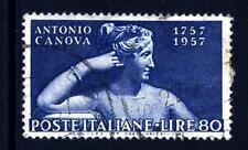ITALIA REP. - 1957 - Bicentenario della nascita di Antonio Canova - 80 L. - Stat