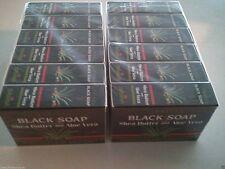 12 bars Madina Black African SHEA BUTTER & ALOE VERA SOAP 100% Vegetable base
