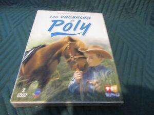 """COFFRET 2 DVD """"LES VACANCES DE POLY"""" serie enfants"""
