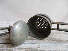 Vintage Metal Large Hand Held Potato Ricer Food Press Juicer Kitchen Tool