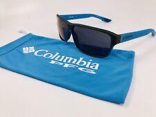 NEW COLUMBIA C503S 435 Matte Dark Compass RIDGESTONE Sunglasses w/Cobalt Lenses