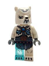 LEGO Oso Polar Guerrero (Version 2) LEGENDS OF CHIMA MINIFIGURA NUEVO loc120 NEW