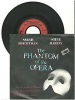 "Sarah Brightman, Steve Harley, The Phantom of the Opera G/VG, 7"" Single, 9-2124"