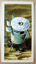 Brooke Bond RACE INTO SPACE card 48. Future lunar shuttle.
