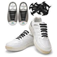 Korea Kollaces Sneakers Black Silicone Shoelaces No Tie Waterproof Easy Gift