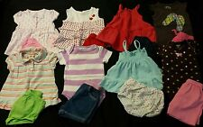 Baby Girl Size 0-3 Months Mixed Spring & Summer Clothing Lot