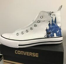 Disney Castle Kids Custom Converse Shoes Character Personalised Shoes