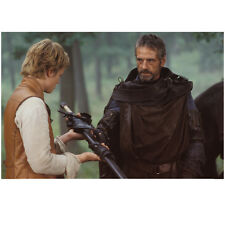 Eragon Jeremy Irons as Brom Giving Sword to Ed Speleers 8 x 10 Inch Photo
