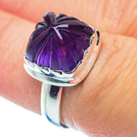 Amethyst 925 Sterling Silver Ring Size 6.5 Ana Co Jewelry R35877F