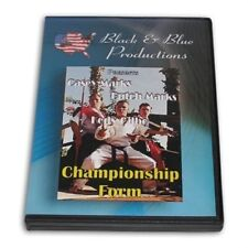 Karate Championship Forms Bo Sword Casey Marks Butch Kody Gilbow Dvd Rs-0518 New