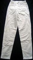 SOMETHING EDWIN Damen Jeanshose Slim Fit Gr. W28-L34 weiß