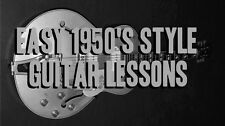 Easy 1950's Style Guitar Lessons DVD Styles of Scotty Moore, Chuck Berry, Carl !
