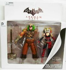 Batman Arkham City Mr. Hammer and Harley Quinn  Action Figure 2 Pack