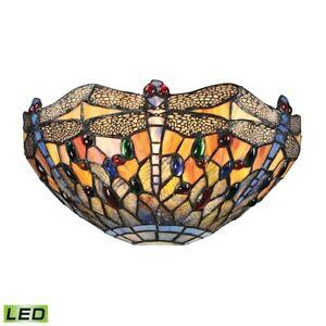 ELK Lighting Dragonfly 1-Light Sconce, Dark Bronze, LED - 72077-1-LED