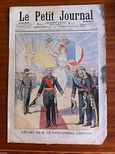?Le petit Journal illustré 4/01/1903; Départ de M. Le vice Amiral Gervais