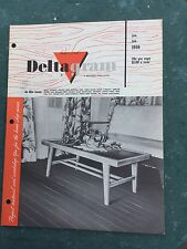 Deltagram Magazine Vintage 1956