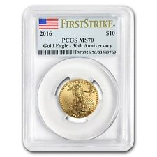 2016 1/4 oz Gold American Eagle MS-70 PCGS (First Strike)
