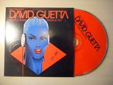 DAVID GUETTA feat CHRIS WILLIS : PEOPLE COME PEOPLE GO [ CD SINGLE PROMO ]