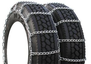 Highway Service Dual 205/60-17.5 Truck Tire Chains - H4209SC