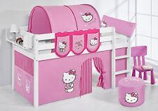 SPIELBETT HOCHBETT KINDERBETT JELLE NEU LILOKIDS Hello Kitty Rosa