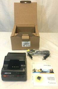 Harris MA-Com CH104560 Tri-Chemistry P7100 P7200 Single Charger New in Box