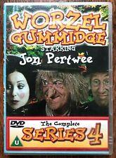 Worzel Gummidge Serie 4 DVD Caja Juego The Original Clásico Culto Infantil Show