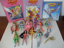 She-Ra Princess of Power Lot 20 Items Action Figures Books Accessories MOTU 1985