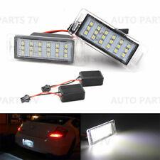 2x 18 LED License Plate Light White Bulb Lamp for Chevrolet for Cadillac for GMC