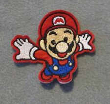 MARIO, iron on PATCH, sew on PATCH EMBROIDERED PATCH Character
