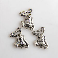30Pcs Tibetan Silver Monkey gorilla Charms/Pendants 18mm 1A1955