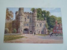 A R QUINTON Postcard 1003 BATTLE ABBEY, NR HASTINGS  Unposted  §A2300   1/2