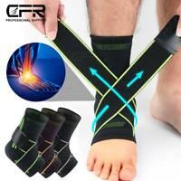 Ankle Support Compression Plantar Fasciitis Sleeve Sport Foot Sprain Strap Brace