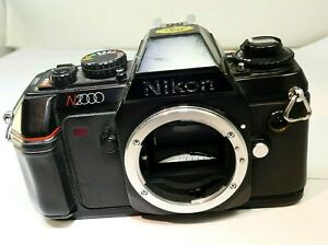 Nikon N2000 Manual Focus camera body only 35mm film SLR for Nikkor Ai-s