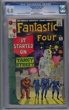 FANTASTIC FOUR #29 CGC 4.0 WATCHER & RED GHOST APP