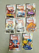 Maisto Ultimate Marvel Diecast Car Lot! 8 Cars New in Box! Wolverine & much more
