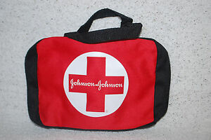 Johnson & Johnson First Aid Zipper Bags Many Styles Lots of 1, 5, 10 & 50  S6533