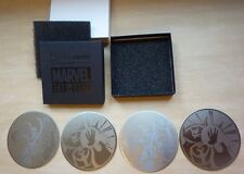 Loot Crate Marvel Gear Goods Doctor Strange vs. Baron Mordo coasters set metal