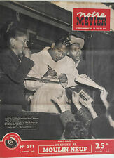 Notre Métier l'Hebdo du Cheminot n°281- 1951 : Ateliers de Moulin-Neuf