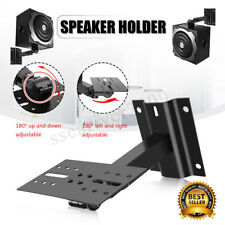 Heavy Duty Speaker Wall Ceiling Mount Brackets Surround Sound Adjustable Max25kg