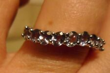VERY Rare Natural Tunduru Colour Change Sapphire Ring Sterling Silver 1.60cts L
