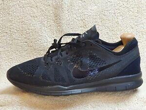 Nike Free 5.0 Tr mens trainers Triple Black UK 7 EUR 41
