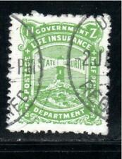 NEW ZEALAND STAMPS  LIFE INSURANCE CANCELED USED     LOT 39197