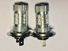 Pour VW Touareg 2003 + Set 2 X H7 Cree 16 Led Ampoules de Phare Antibrouillard