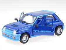 Renault 5 R5 Turbo 1982 blau Modellauto 43215 Bburago 1:32