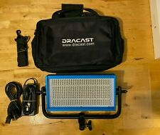 Dracast Led500 Pro Bi-Color Led Light with V-Mount Battery Plate + Bag Bundle